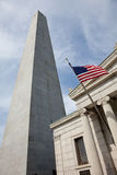 Bunker Hill Monument Stock Photo