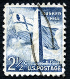 Bunker Hill US Postage Stamp Royalty Free Stock Photography