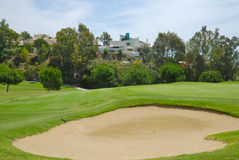 Bunker in La Quinta golf Royalty Free Stock Photos