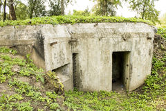 Bunker Royalty Free Stock Image