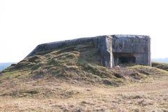 Bunker in Polen Stockfotos