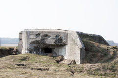 Bunker in Polen Stock Foto's