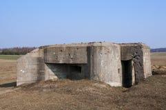 Bunker in Polen Lizenzfreie Stockbilder