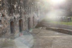Bunker Puerto Rician, der zu Ihnen nennt lizenzfreie stockfotos