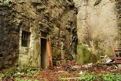 Bunker in rock Stock Photos