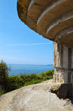 Bunker of the Second World War - Liguria Italy Royalty Free Stock Photos