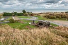 Bunker tedesco Fotografie Stock