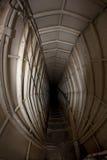 Bunker tunnel Stock Image