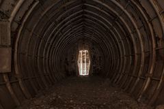 Bunker Tunnel Stock Images
