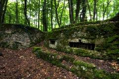 bunker verdun royaltyfri fotografi
