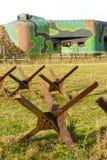 Bunker vicino a Satov Fotografia Stock