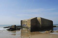 Bunker vom Zweiten Weltkrieg Stockbilder