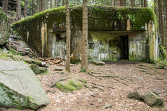 Bunker from the war Stock Photography