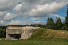 Bunker from the war Stock Photos