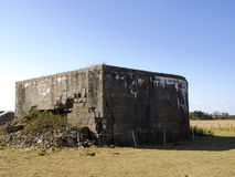 A bunker from World War II Stock Images