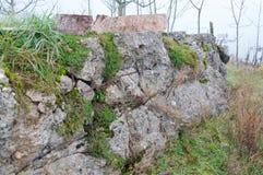 Bunker WW2 in Deutschland Lizenzfreies Stockfoto