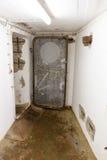 Bunker WW2 i Tyskland i tunnelbanan Arkivfoto
