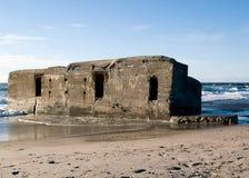 bunker wwii zdjęcie royalty free