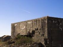 Bunkers van Wereldoorlog II Royalty-vrije Stock Foto's