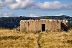 Bunkers from World War II Stock Image