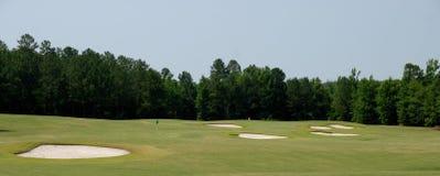 bunkierów kursu golf Fotografia Royalty Free