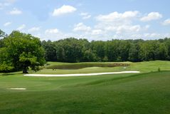 bunkierów kursu golf Zdjęcie Royalty Free