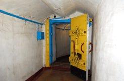 bunkier łódkowata przepustka u Fotografia Stock