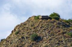 Bunkier na wzgórzu Zdjęcie Royalty Free