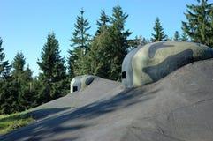 Bunkier obserwaci cupola Zdjęcie Royalty Free