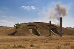 bunkier rzucający Zdjęcie Stock