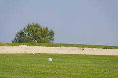 bunkieru golf Obrazy Royalty Free