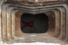 Bunkieru okno Obrazy Stock