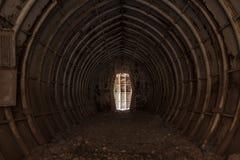 Bunkieru tunel Obrazy Stock