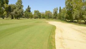 Bunkieru wielki golf Fotografia Stock