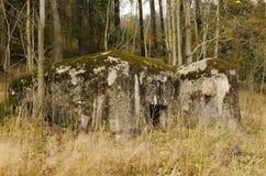 bunkieru wojskowy Obrazy Royalty Free