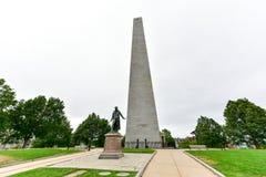Bunkieru wzgórza zabytek - Boston, Massachusetts Obrazy Royalty Free