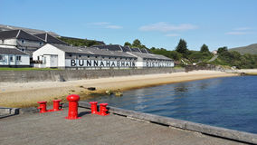 Bunnahabhain Distillery Royalty Free Stock Photography