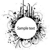 Bunner colorido del vector abstracto Fotografía de archivo libre de regalías