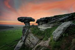 Bunnet Stane United Kingdom. Taken in 2015 taken in HDR Stock Photography