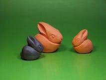 bunnies διακοσμητικά Στοκ Εικόνες