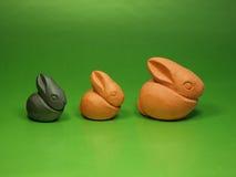 bunnies ζωή Πάσχας ακόμα Στοκ Εικόνες