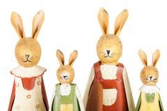 bunnies οικογένεια Πάσχας Στοκ εικόνα με δικαίωμα ελεύθερης χρήσης