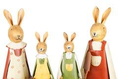 bunnies οικογένεια Πάσχας Στοκ εικόνες με δικαίωμα ελεύθερης χρήσης