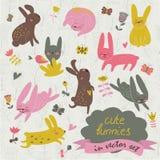 bunnies χαριτωμένα Στοκ Εικόνα