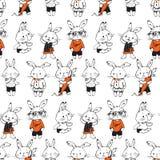 bunnies διανυσματική απεικόνιση