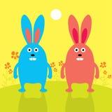 bunnies Απεικόνιση αποθεμάτων