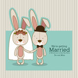 Bunnies design Royalty Free Stock Photo
