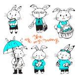Bunnies Stock Photos
