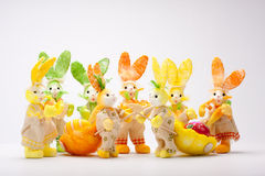 Bunnies meeting Stock Images