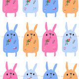 Bunnies Royalty Free Stock Images